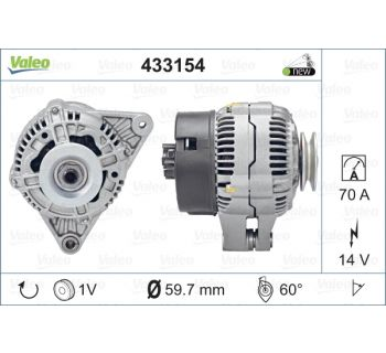 Alternateur VALEO 433154